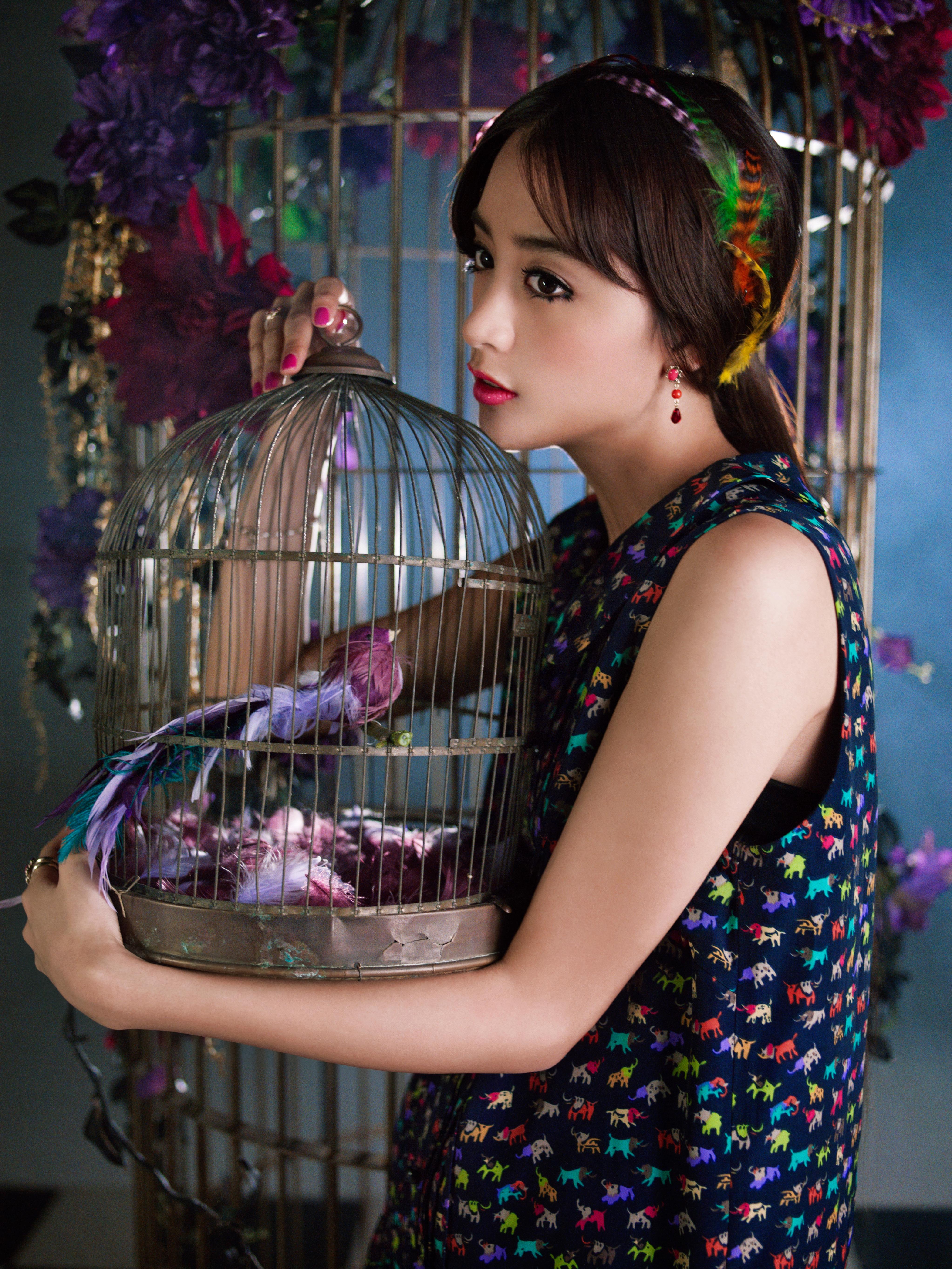 2014SS:カタログ&雑誌M-girlタイアップ(MODEL:山本美月)
