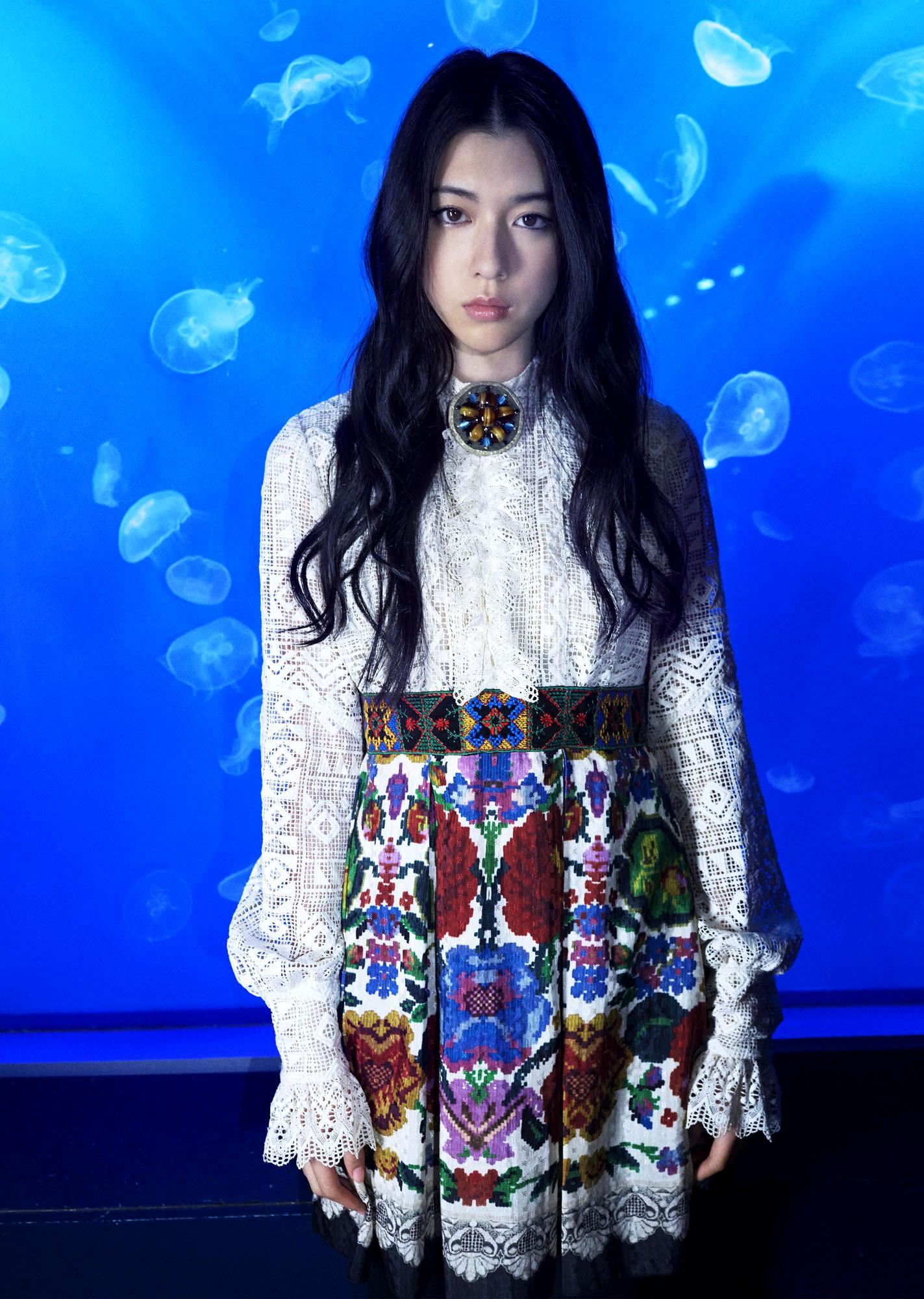 2015AW:カタログ&雑誌M-girlタイアップ(MODEL:三吉彩花)