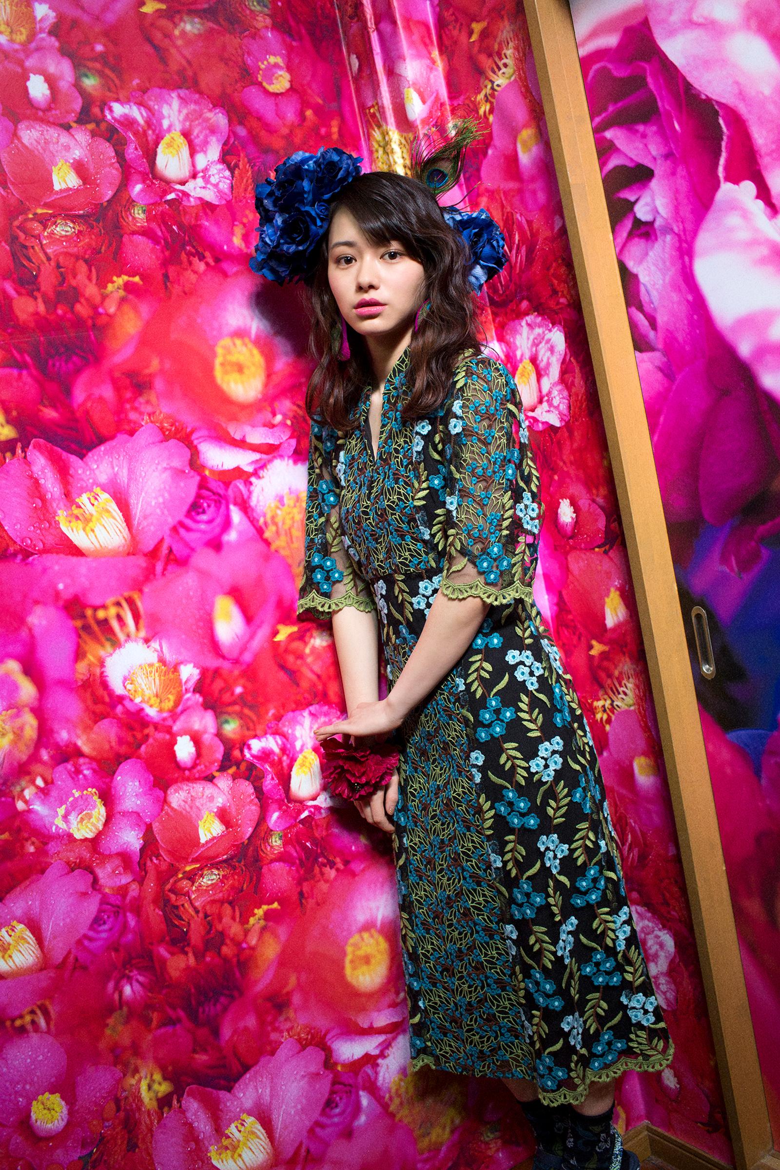 2016AW:カタログ&雑誌M-girlタイアップ(MODEL:山本舞香)