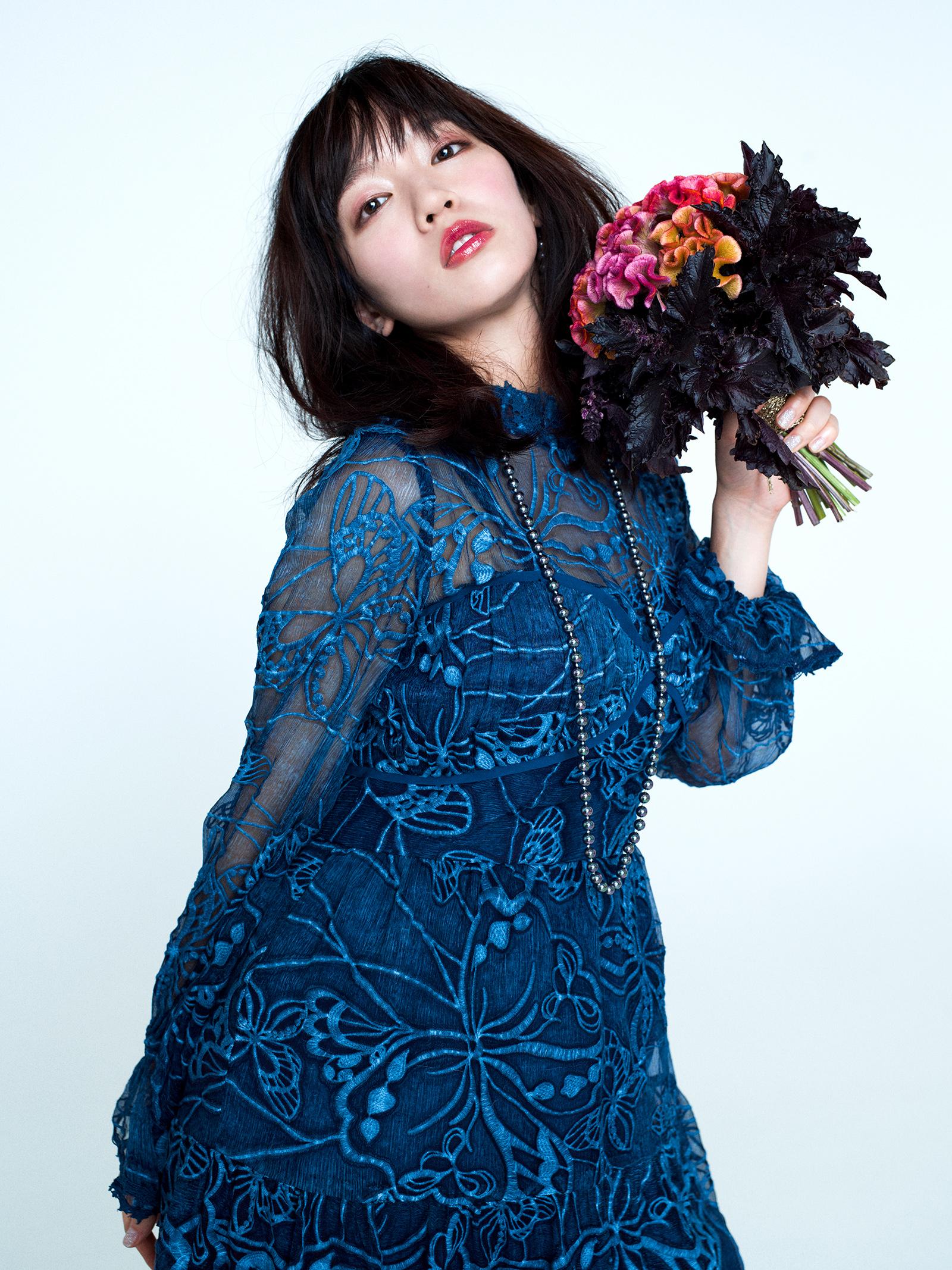 2018SS:カタログ&雑誌M-girlタイアップ(MODEL:吉岡里帆)
